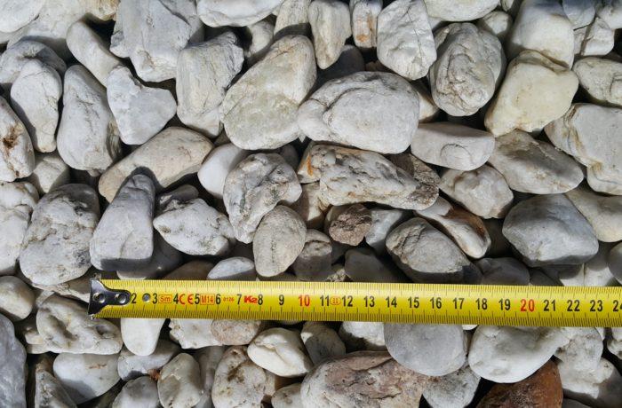 Żwir kremowy 20-40 mm rzeczny