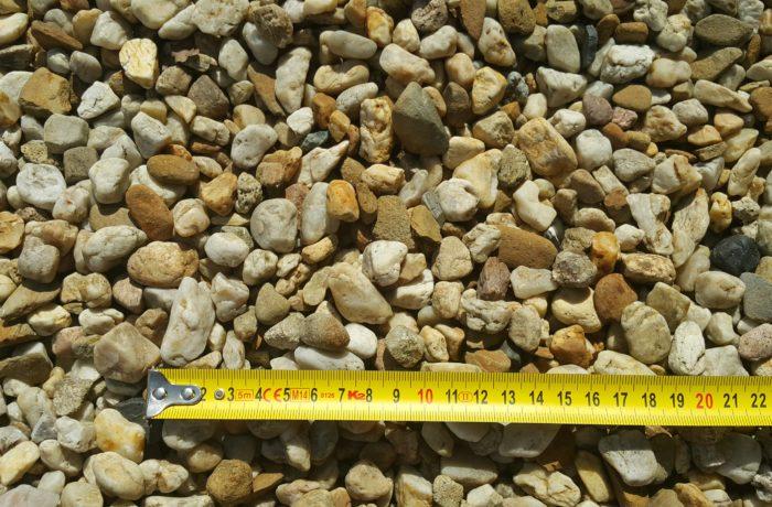 Żwir miodowy 8-16 mm rzeczny