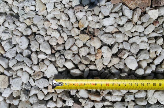 Żwir kremowy 8-16 mm rzeczny